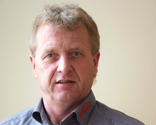 Bauleiter Dieter Kollert