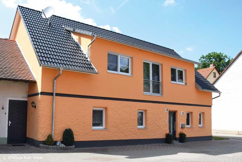 Aufstockung Bestandsgebäude mit Dachgauben