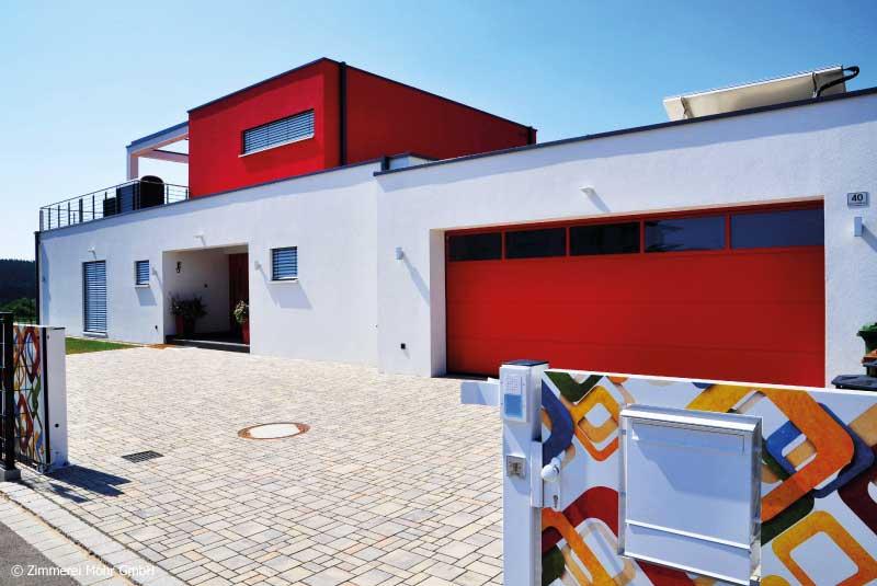 Neubau Kundenhäuser Zimmerei Mohr und MohrHolzhaus