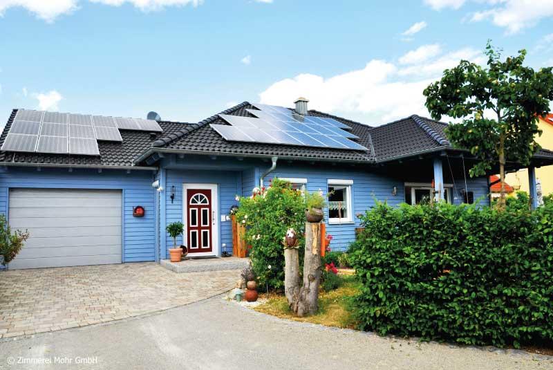 Bungalow CHARME – Holzhaus mit Holzfassade Leutershausen