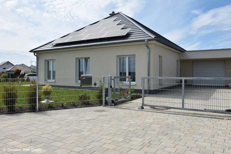 Neubau Bungalow CLASSIC in Ansbach