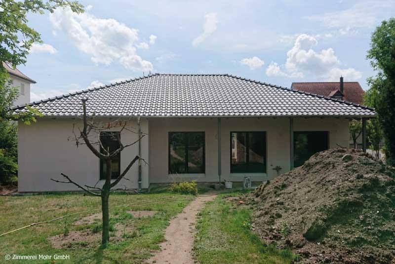 Bungalow DUO –Holzhaus mit Putzfassade Ansbach