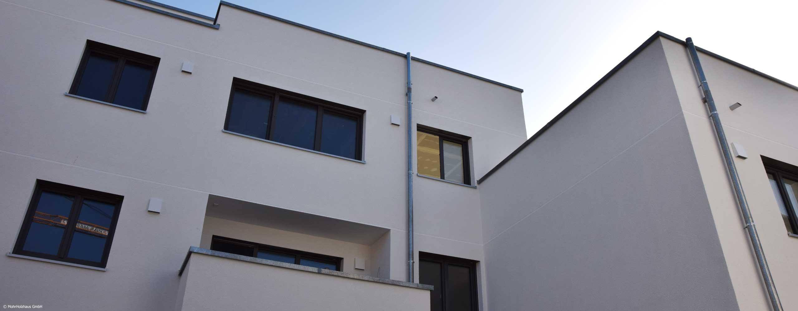Mehrgeschossiger Holzbau und Objektbau Kundenprojekte Zimmerei Mohr Mohrholzhaus