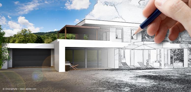 Hauspräsentation Architektur Visualisierung