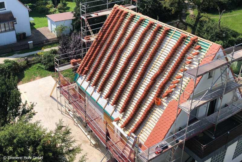 Dachdecker Dachdeckergeselle Baustelle Vorarbeiter Stellenangebote Jobs Karriere im Handwerk Leutershausen Ansbach