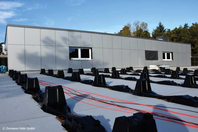 Objektbau Förderstätte Lebenshilfe Neubau in Holzrahmenbauweise