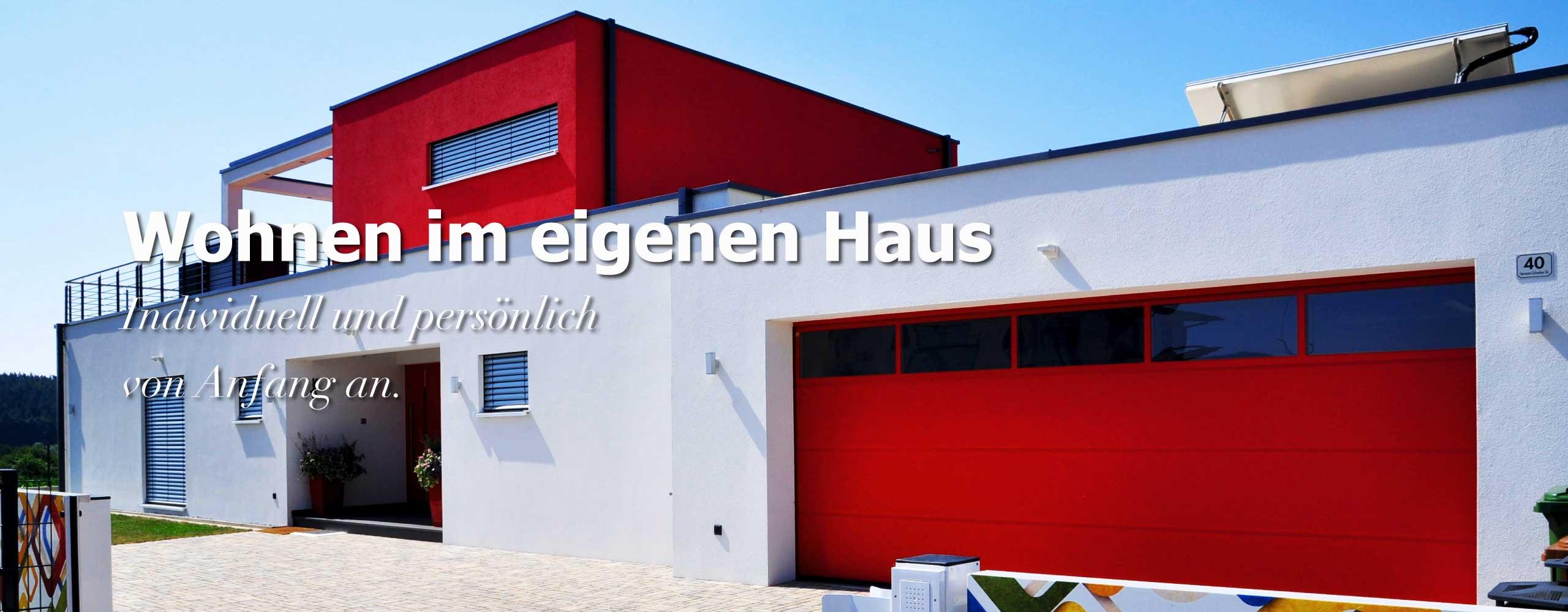 Hausbau Neubau Zimmerei Mohr