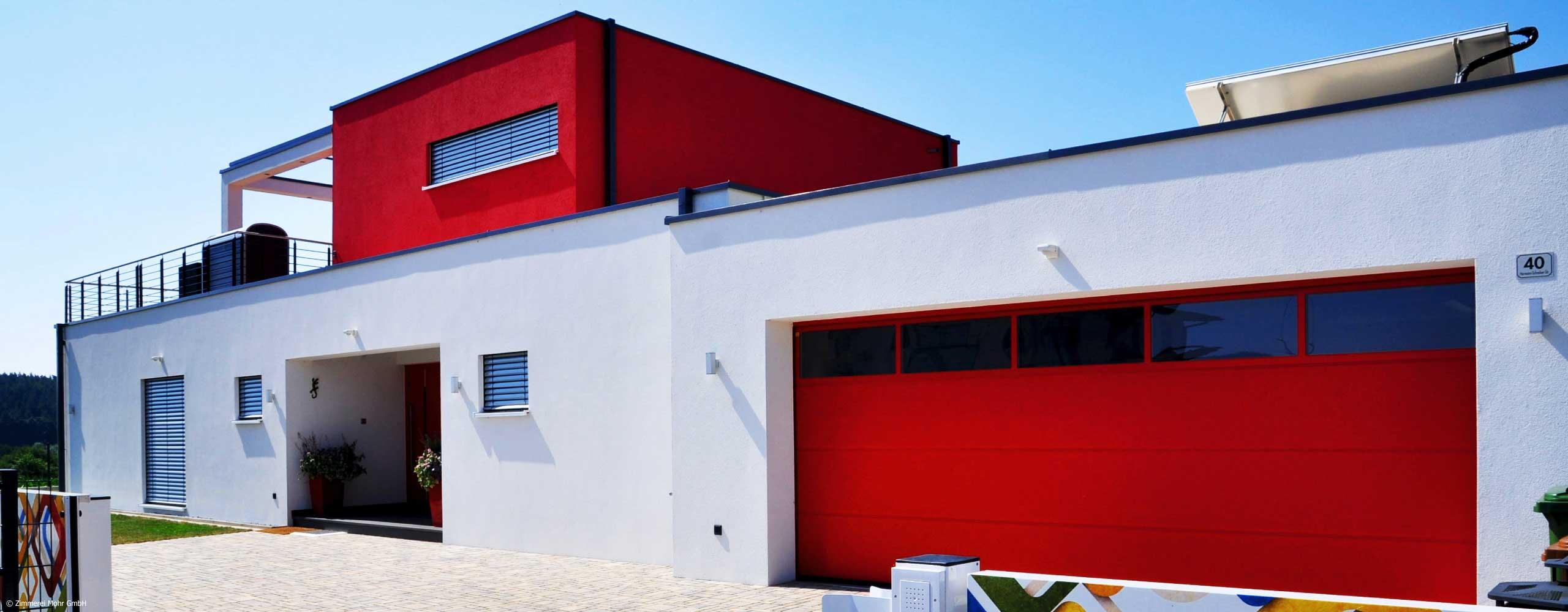 Wohnlösungen Kundenhäuser Neubau von Zimmerei Mohr GmbH