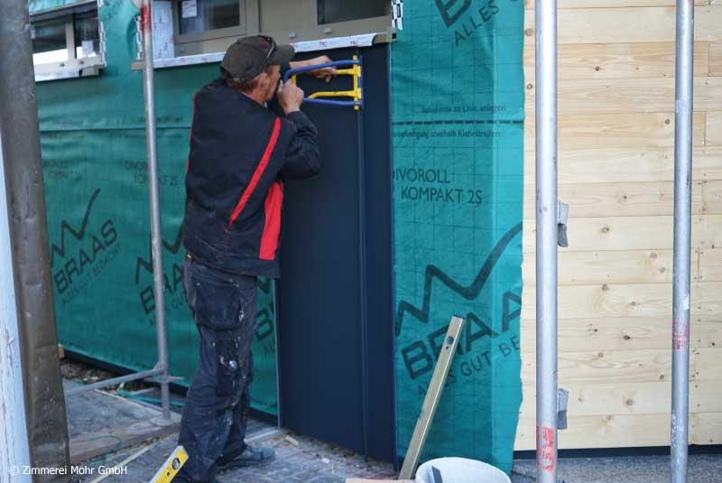 Spengler Spenglerfacharbeiter Facharbeiter Bauspengler Bauspenglerarbeiten Dacharbeiten Fassadenarbeiten Flaschner Stellenangebote Jobs Karriere im Handwerk Leutershausen Ansbach