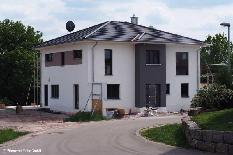 Neubau Holzhaus