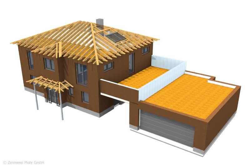 Werkplan Einfamilienhaus