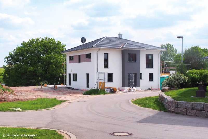 Stadtvilla FELICE - Einfamilienhaus Neubau Holzbauweise Leutershausen