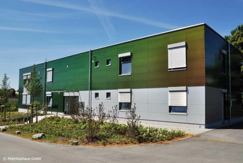 Tagesklinik – Neubau in Holzrahmenbauweise in Neustadt a.d.Aisch
