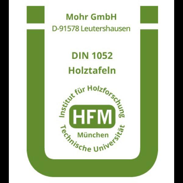 Übereinstimmungszertifikat Zimmerei Mohr