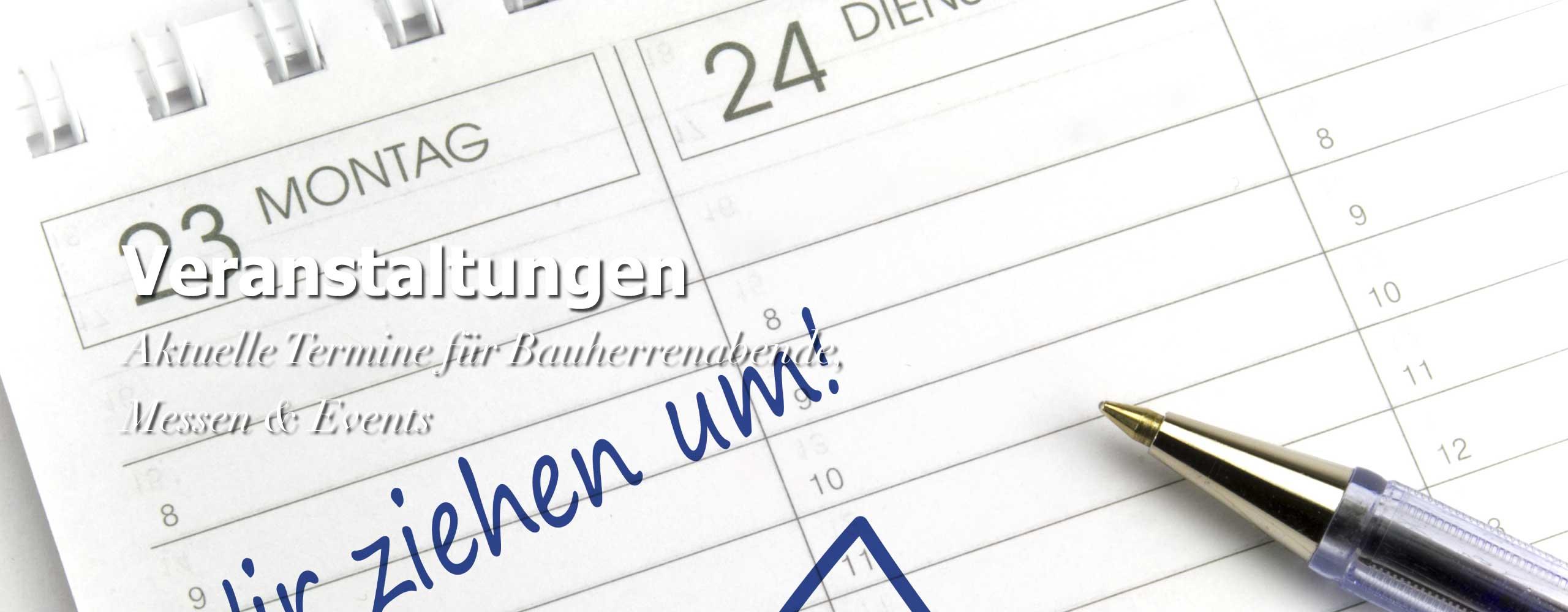 Veranstaltungen Termine Events Bauherrenabende Informationsveranstaltungen Messen Zimmerei Mohr