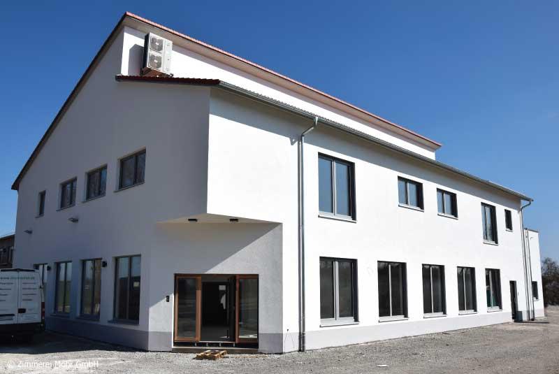Verwaltungsgebäude Kneitschel - Bürogebäude Neubau in Holzbauweise