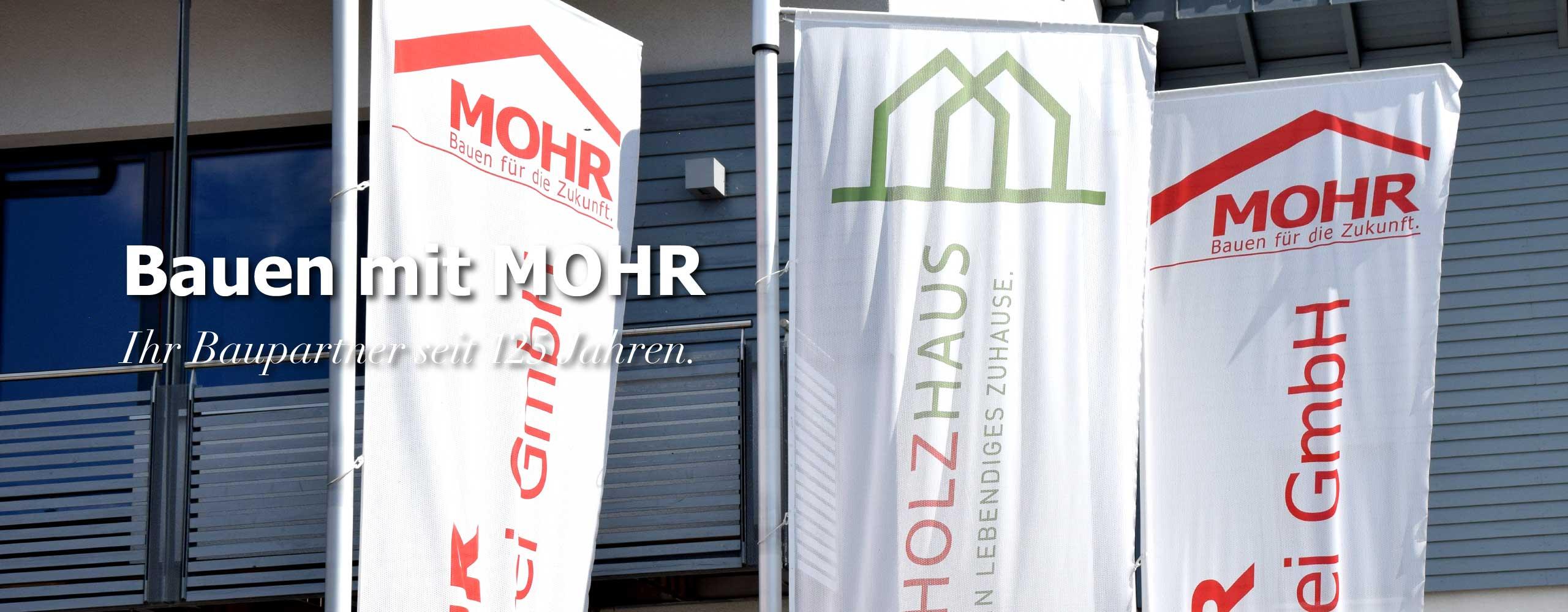 Bauen mit Mohr Neubau Anbau Aufstockung Hausbau mit Zimmerei Mohr Leutershausen