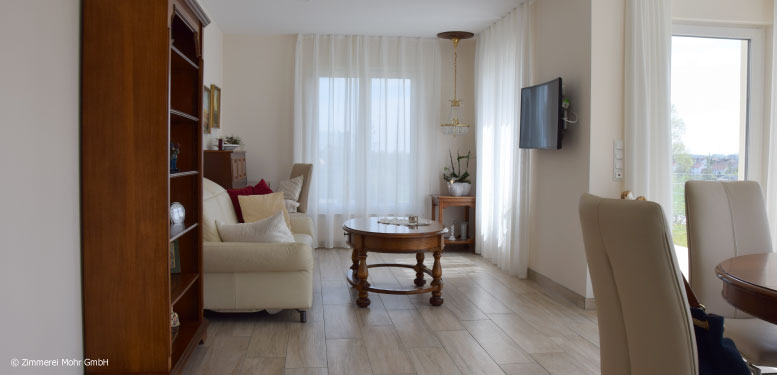 Bungalow CLASSIC - Wohnzimmer