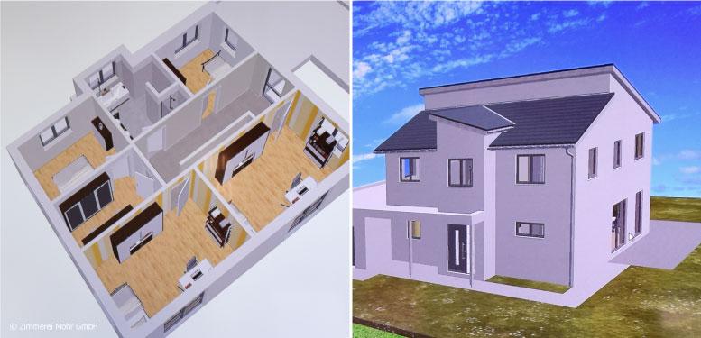 Hauspräsentation Architektur Visualisierung –Schritt für Schritt zur Wunschimmobilie