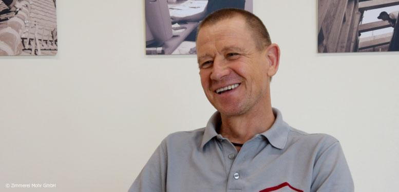 Einkäufer und Zimmermann Markus Rother - Zimmerei Mohr