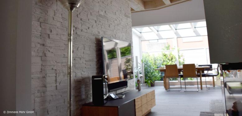 Homestory Reiheneckhaus TOWNHOUSE – Offener Grundriss im Erdgeschoss