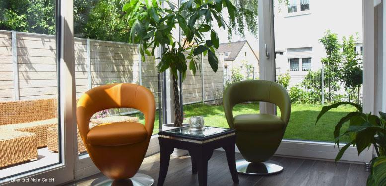 Homestory – Reiheneckhaus TOWNHOUSE mit offenem Wintergarten