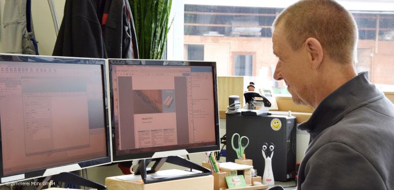 Mitarbeiter Interview Mitarbeiterinterview Zimmerei Mohr Markus Rother